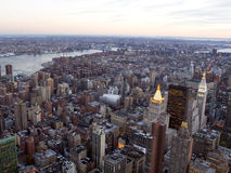 New Yor City from Above Stock Images