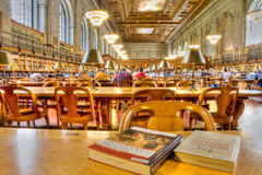 New- Yorköffentliche Bibliothek Stockbilder