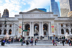 New- Yorköffentliche Bibliothek Stockfoto
