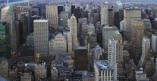 New York, égalisant Photographie stock