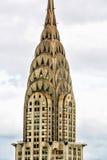 New York здание chrysler Стоковые Изображения