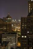 New York к ноча Стоковая Фотография RF