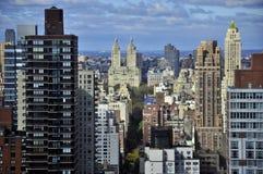 New York от вышеуказанного Стоковое Изображение