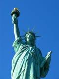 New York: Статуя вольности, американского символа Стоковые Фотографии RF