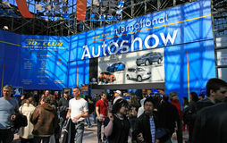 New York 2008 International Auto Show Stock Photography