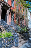New York. Typical Greenwich village home, ny Stock Photo