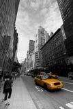 Таксомотор New York Стоковые Изображения