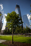 New York. The New York City Freedom Tower, which will stand 1,776 feet tall on the site of the former World Trade Center royalty free stock image