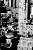 New York 3. So many buildings crammed together, as seen from forty floors up Royalty Free Stock Images