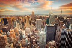город New York Стоковая Фотография