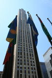 New York. The GE Building at Rockefeller Plaza, New York Royalty Free Stock Photo