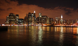 New York. This is a shot of New York City from Brooklyn Royalty Free Stock Photos