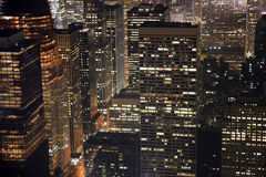 город New York зданий Стоковая Фотография RF