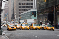 New York 5th Avenue Royalty Free Stock Image