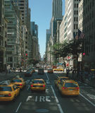 New York 5th Avenue USA Royalty Free Stock Image