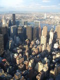 New york. View of manhattan from the empire state building Royalty Free Stock Photo