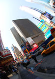 New York. Broadway Avenue in New York City Royalty Free Stock Images