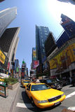 New York. Broadway Avenue in New York City - Time Square Royalty Free Stock Images