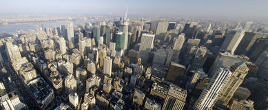 New York. Panoramic view in Manhattan, New York Stock Photography