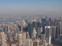 New york. Skyline Royalty Free Stock Images