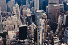 New York from above Stock Photography