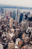 New York from above Royalty Free Stock Images