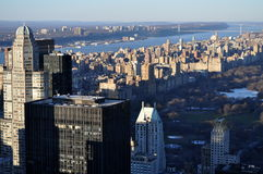 New York aerial Royalty Free Stock Photos