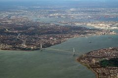 New York aerial Stock Photography