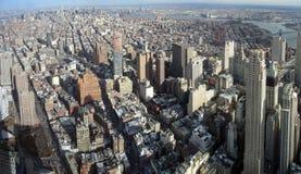 New York aerial image Royalty Free Stock Image