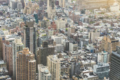 New York Aerial shot Royalty Free Stock Photo