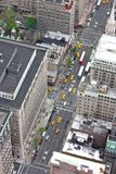 New York aerial view Royalty Free Stock Photo