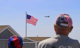New York Air Show At Jones Beach Royalty Free Stock Image