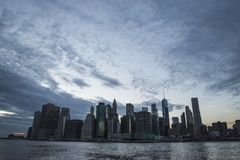New York am Anblick lizenzfreies stockbild