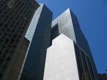 New York Architecture. New York Skyline in May Royalty Free Stock Photo