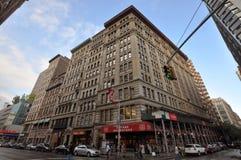 New York Architecture, Broadway, Manhattan, NYC stock image