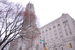 New York architecture historic buildings Royalty Free Stock Photos