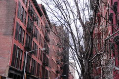 New York architecture historic buildings Stock Photos