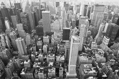 New York: arquitectura da cidade de manhattan Fotografia de Stock