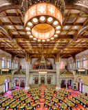 New York Assembly Chamber. Assembly chamber (House of Representatives) in the New York State Capitol building in Albany, New York Royalty Free Stock Image
