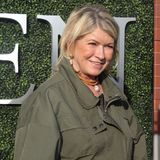 American businesswoman, writer, and television personality Martha Stewart on the blue carpet before US Open 2017 opening night royalty free stock photo