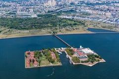 NEW YORK - AUGUST 23, 2015. Ellis Island, New Jersey, August 2015 Royalty Free Stock Photos