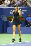 Five times Grand Slam Champion Maria Sharapova of Russia in action during her US Open 2017 first round match Stock Photo