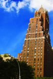 NEW YORK - AUGUST 26, 2018: Skyscrapers in new york royalty free stock photo