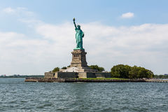 NEW YORK - AUGUST 24, 2015. Statue liberty, New York in August 2015 Stock Images