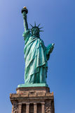 NEW YORK - AUGUST 24, 2015. Statue liberty, New York in August 2015 Royalty Free Stock Photos