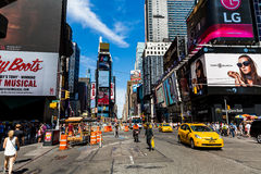 NEW YORK - AUGUST 22 Royalty Free Stock Images