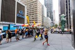 NEW YORK - AUGUSTI 23, 2015 Fotografering för Bildbyråer