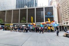 NEW YORK - AUGUSTI 23, 2015 Arkivfoton