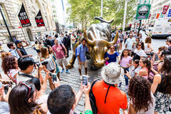 NEW YORK - AUGUSTI 24, 2015 Royaltyfri Bild