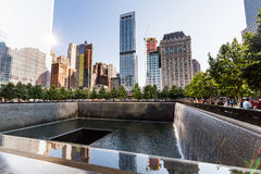 NEW YORK - AUGUSTI 24, 2015 Arkivbild